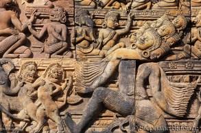 Khmer religious carving