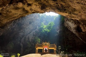 Temple in cave