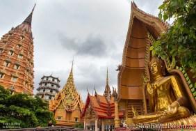 L'ensemble architectural du Wat Tham Khao Noi