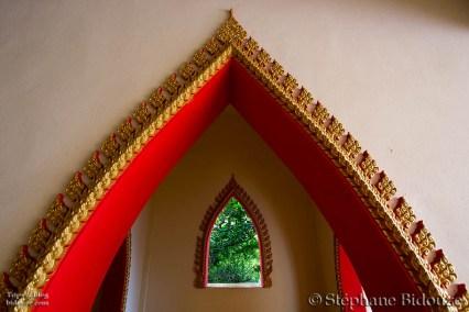 Détail intérieur temple