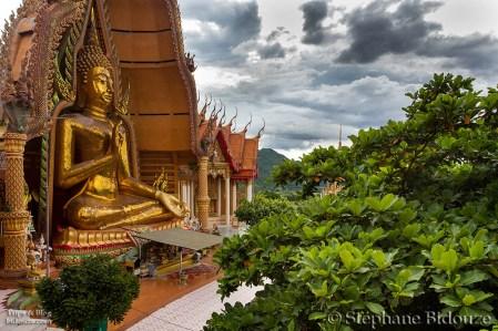 Le grand Bouddha du temple
