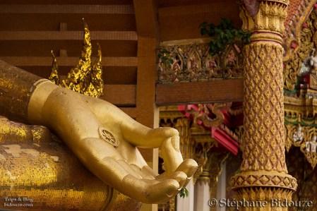 Détail du Bouddha