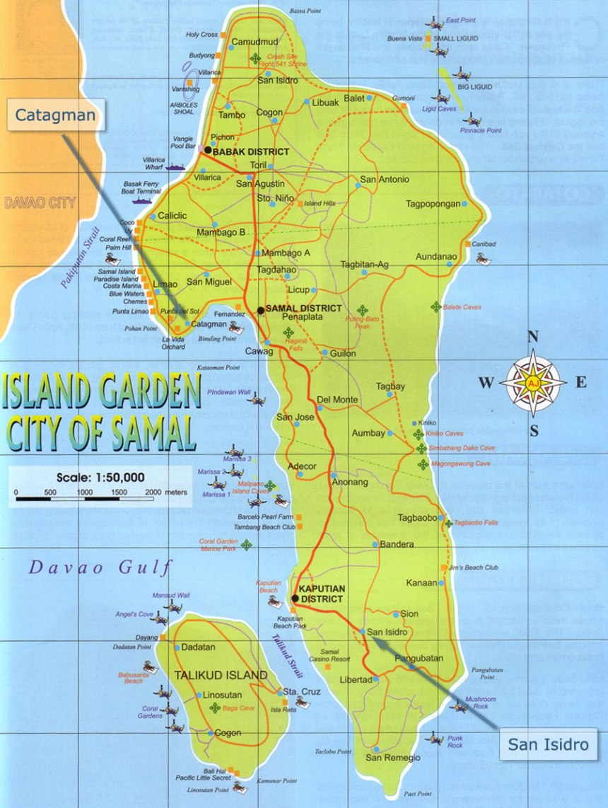 samal-islnd-ile-map-carte