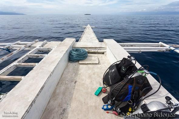 plongée-moalboal-bangka-bateau