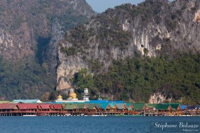 Koh Panyi-floating-village