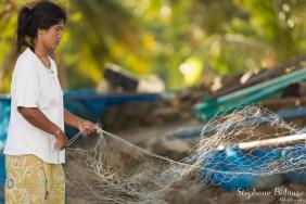 thai-femme-filet-pêche