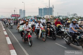 mobylette-heure-pointe-Ho Chi Minh City