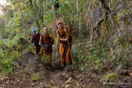 randonnee-trek-moine-bouddhiste-thailande