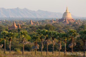 Vue depuis la pagode Myauk Guni
