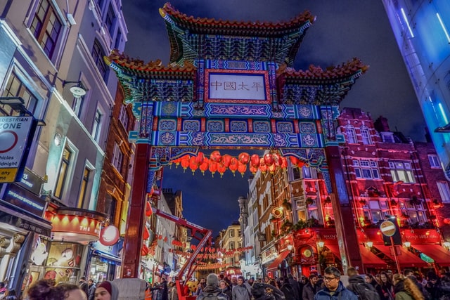Chinatown: instagrammable place in London