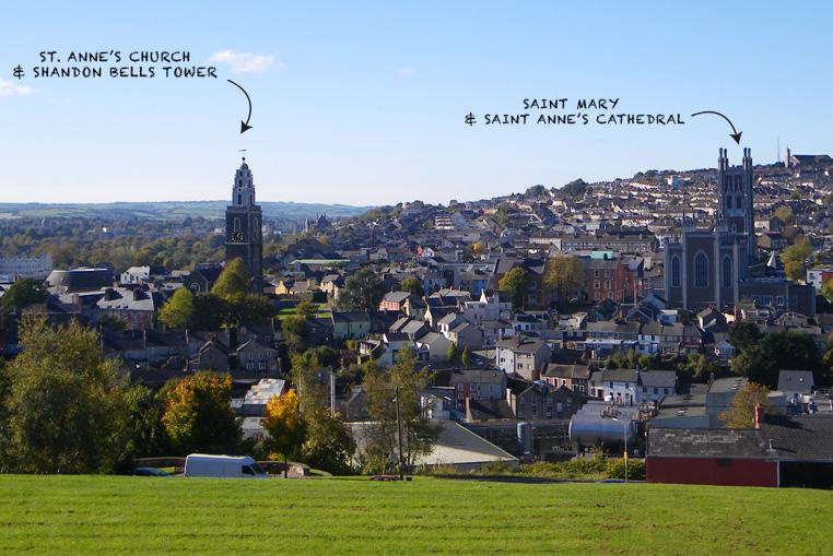Cork-city---irlande---St.-Anne-Church-and-shandon-bells-tower