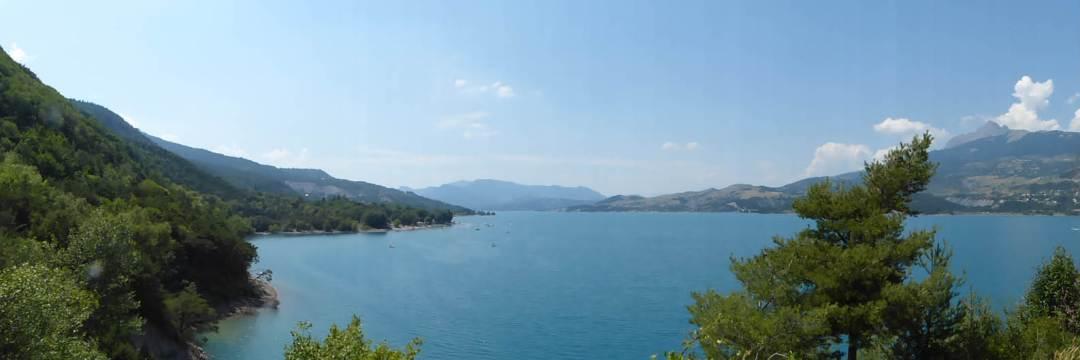 Lac de Serre ponçon 4