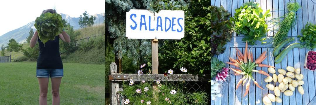 Les Orres - salades