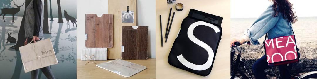 Reversible Sacs et accessoires recyclés -Bidule et cocotte