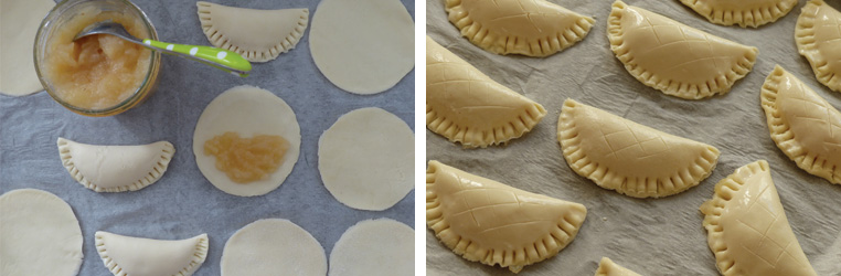 préparation-chaussons-aux-pommes