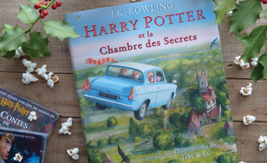 Harry Potter  La Chambre Des Secrets Illustr Par Jim Kay