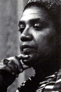 Photo of Audre Lorde.