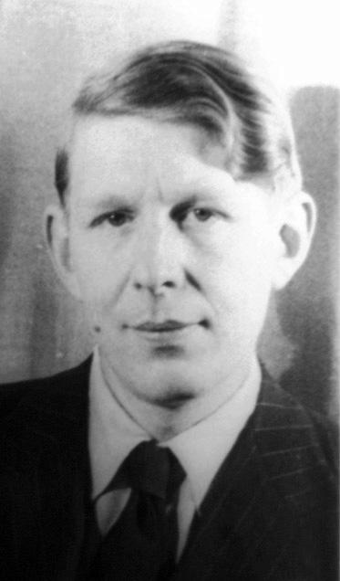 Photo of W. H. Auden.
