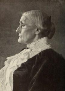 Portratit of Susan B. Anthony.
