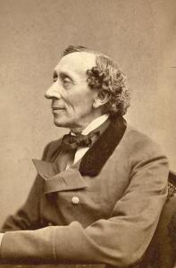 Photo of Hans Christian Andersen.
