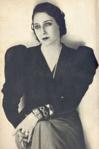 Photo of Juana de Ibarbourou.