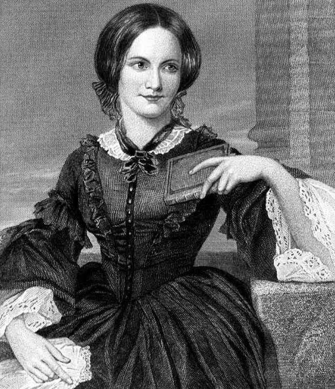 Photo of Charlotte Brontë.
