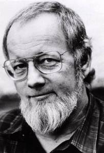 Photo of Donald Barthelme.