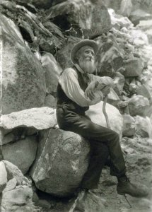 Photo of John Muir.