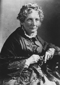 Photo of Harriet Beecher Stowe.