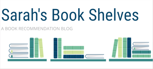 Screenshot of the website for Sarah's Book Shelves, one of the sites included on this best book blogs list.