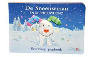 De sneeuwman en de sneeuwhond vingerpopboek