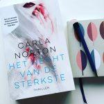 Het recht van de sterkste – Carla Norton