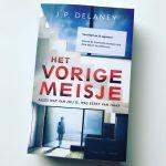 Het vorige meisje – J.P. Delaney