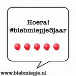 Feestweek winactie 1: De rode magneet #biebmiepje5jaar