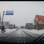 雪道の自転車走行は危険がいっぱい!