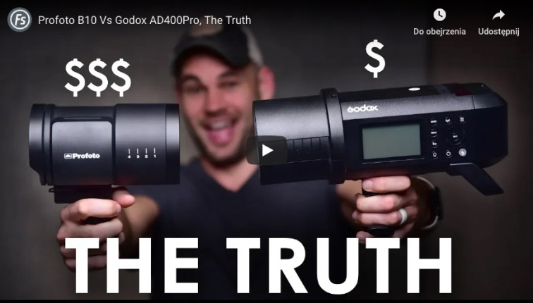 Profoto vs Godox