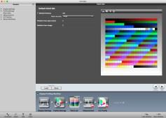 i1 Profiler - wybór próbki 462 kolorów