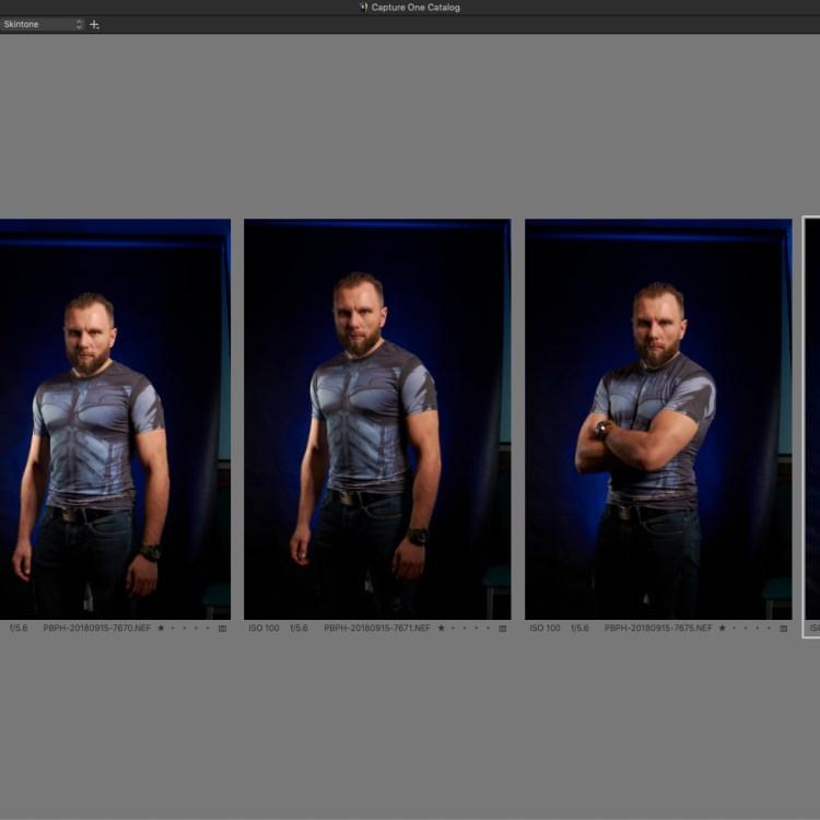 Wywołanie RAW i retusz w Capture One Pro: 2