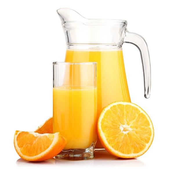 jus d Orange bij uw lunch of brunch