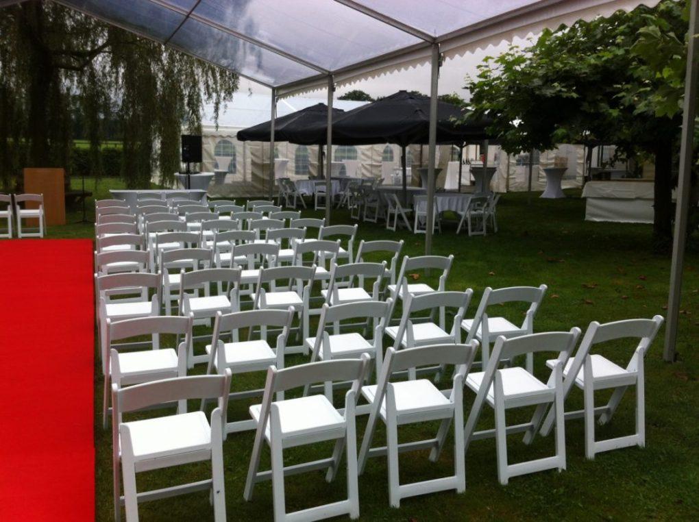 Tent en stoelen verhuur bij catering deventer