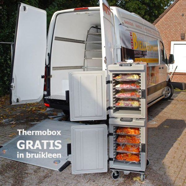 Gratis koeling in bruikleen bij barbecue van Bielderman Catering in Deventer