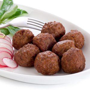 vegetarische buffet gehaktbal