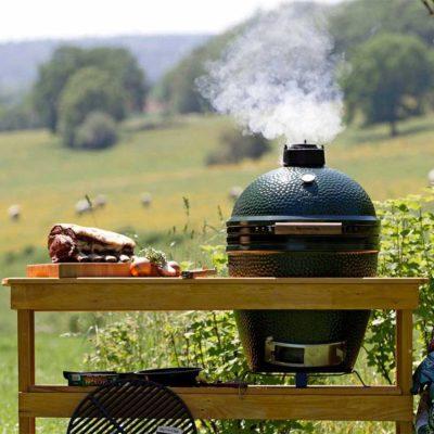 big egg barbecue door Bielderman Catering Deventer