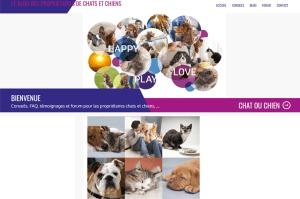 Blog des propriétaires de chiens chats