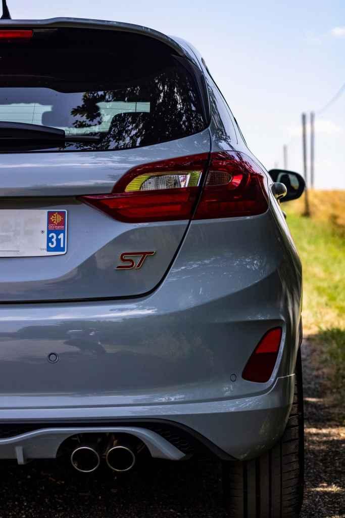 Nouvelle Ford Fiesta ST échappement