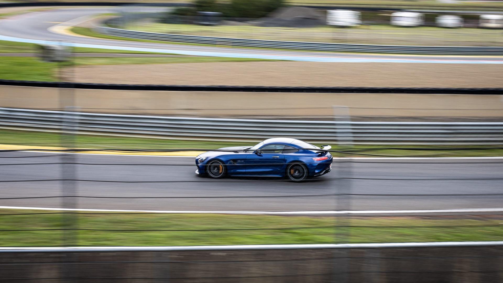Blue AMG GTR