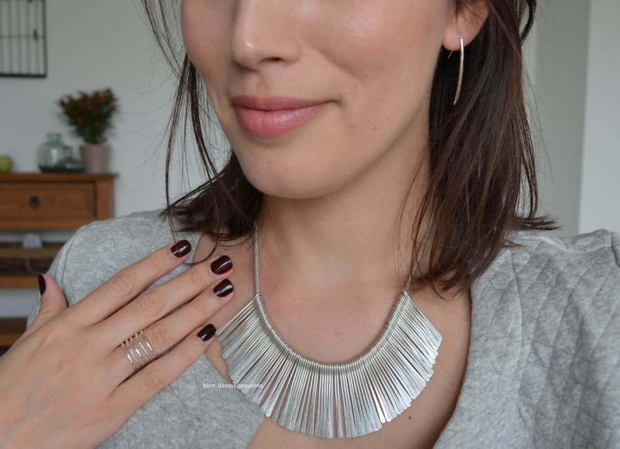 collier à franges de la collection stella & dot printemps 2016