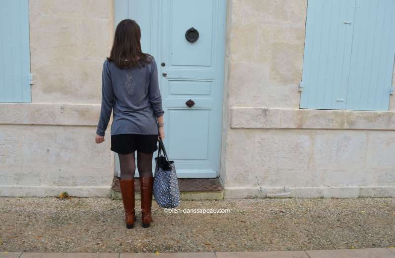 look-short-automne-bottes-cognac