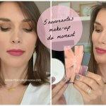 Maquillage de printemps avec 5 nouveautés du moment