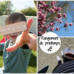 Weekly vlog – organisation maison et rangement de printemps